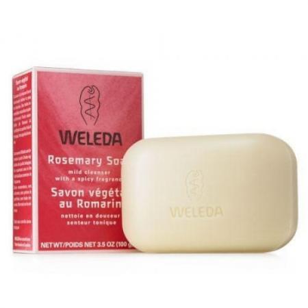 Мыло твердое WELEDA 9882 100 гр твердое мыло мыло крем туалетное твердое глицериновое sodasan лаванда 100 гр