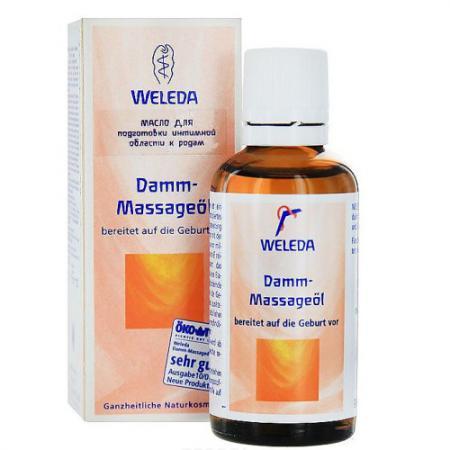 WELEDA Масло для подготовки к родам 50 мл weleda массажное масло с арникой 50 мл