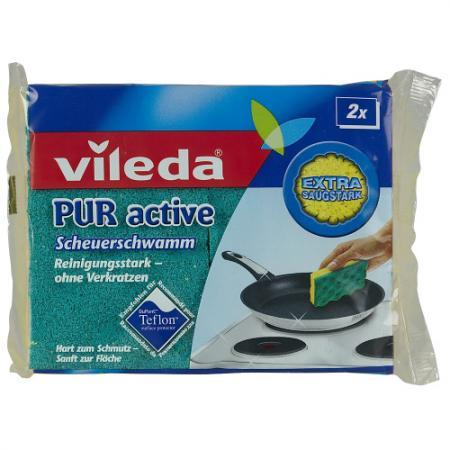 ВИЛЕДА Губка для плит Пур-Актив 2 шт