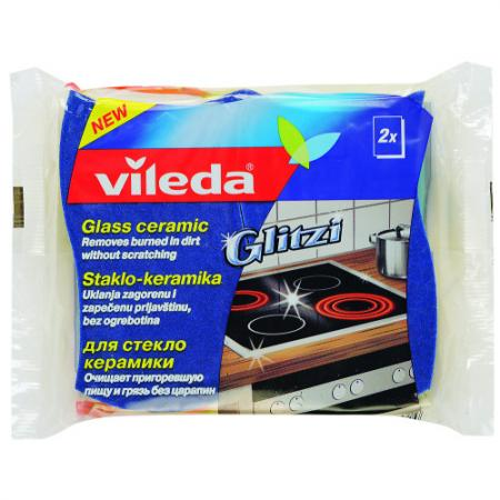 ВИЛЕДА Губка для стеклокерамики 2 шт. губка vileda для стеклокерамики 2 шт
