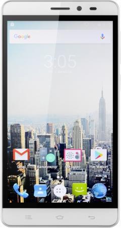 Смартфон Digma Vox S505 3G белый 5 8 Гб Wi-Fi GPS 3G VS5017MG смартфоны digma смартфон s505 3g vox белый