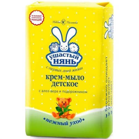 Мыло твердое Ушастый нянь Детское 90 гр