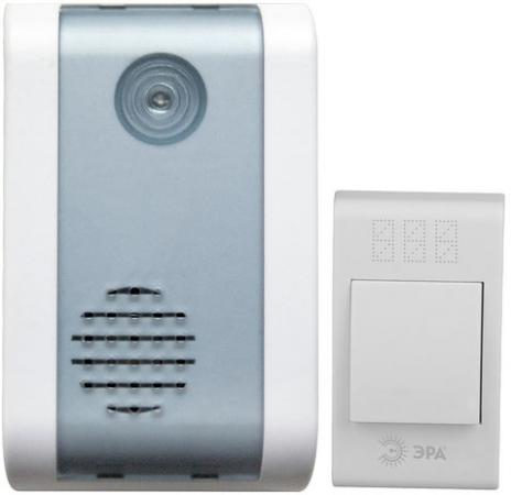 Звонок дверной беспроводной Эра C31 белый звонок беспроводной дверной 32 мелодии белый