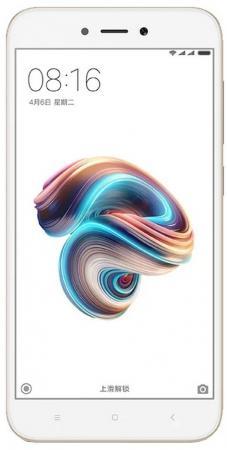 Смартфон Xiaomi Redmi 5A золотистый 5 16 Гб LTE Wi-Fi GPS 3G (REDMI5AGD16GB) смартфон meizu m6 золотистый 5 2 16 гб lte wi fi gps