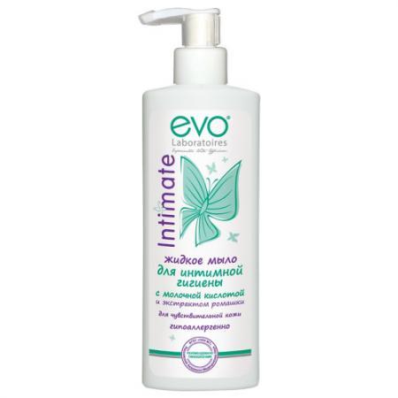 EVO Жидкое мыло для интимной гигиены для чувствительной кожи 200мл
