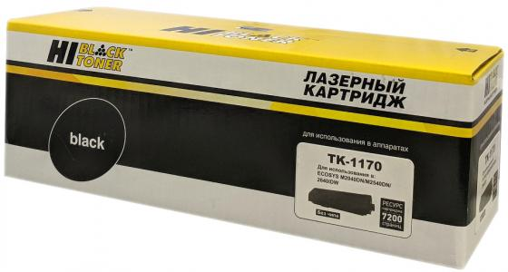 Картридж Hi-Black TK-1170 для Kyocera-Mita M2040dn/M2540dn/M2640idw черный 7200стр тонер cactus cs thp7bk 55 для hp color laserjet 1215 1615 черный 55гр