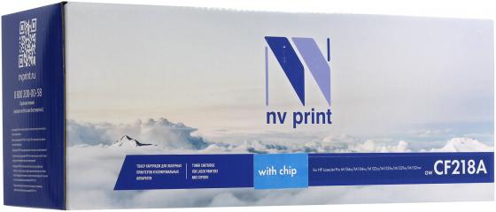 Картридж NV-Print CF218A для HP LaserJet Pro M104a/M104w/M132a/M132fn/M132fw/M132nw черный 1400стр flower candles print waterproof shower curtain