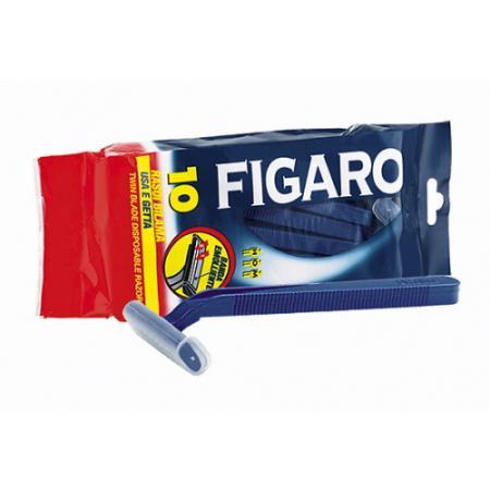 FIGARO Станки для бритья с двойным лезвием и смягчающей полоской 10 шт. в уп. журнал madam figaro где