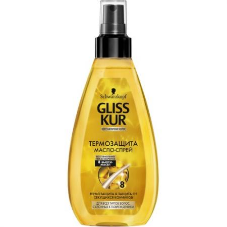 GLISS KUR Масло-спрей Термозащита Oil Nutritive 150мл термозащита масло спрей для всех типов волос склонных к повреждениям oil nutritive 150 мл