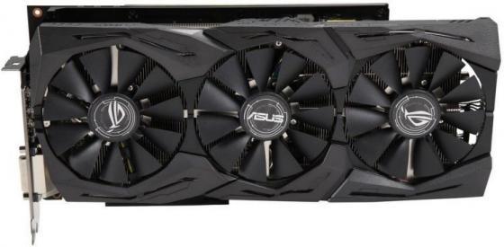 Видеокарта ASUS Radeon RX Vega 56 ROG-STRIX-RXVEGA56-O8G-GAMING PCI-E 8192Mb 2048 Bit Retail asustek asus strix gtx1050ti 4g gaming 1290 1392mhz 4gb 7008mhz 128bit gddr5 игровая видеокарта