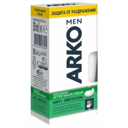 Крем после бритья ARKO Anti-Irritation 50 мл пена для бритья cool arko men 200 мл