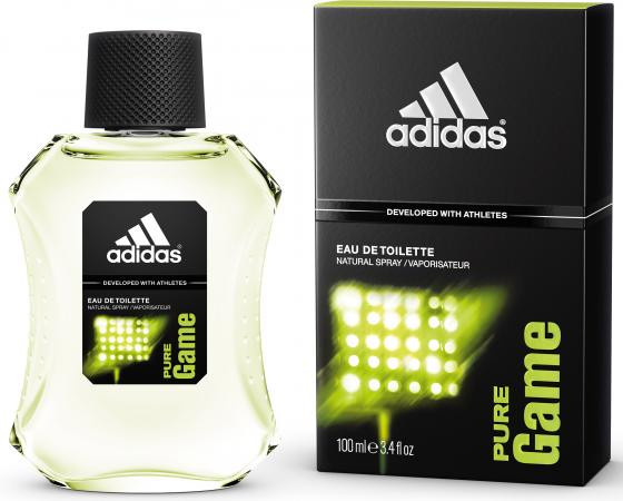 Adidas Pure Game туалетная вода для мужчин 100 мл туалетная вода для мужчин islanders 100 мл