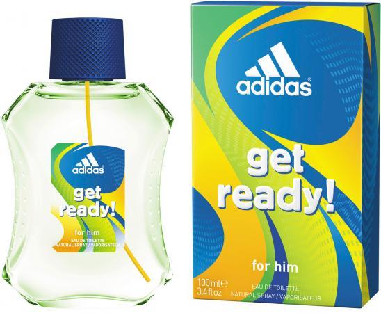 Adidas Get ready! туалетная вода для мужчин 100мл adidas get ready туалетная вода для мужчин 100мл