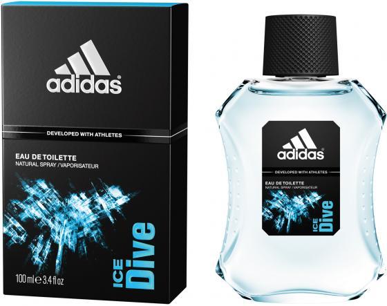 Adidas Ice Dive туалетная вода для мужчин 100мл adidas get ready туалетная вода для мужчин 100мл