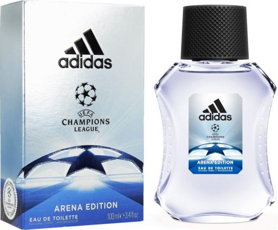 adidas UEFA IV т/в муж 100 мл adidas део спрей uefa iv мужской 150 мл