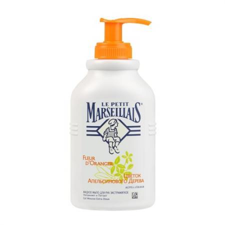 Мыло жидкое Le Petit Marseillais Цветок апельсинового дерева 300 мл 81608 le petit nicolas