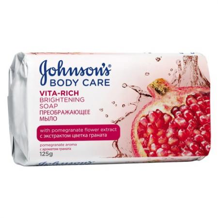 Мыло твердое Johnson's Body Care Vita-Rich 120 гр 88988 johnson s