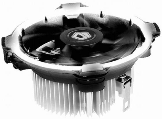 Кулер для процессора ID-Cooling DK-03 Halo Led Socket 1150/1151/1155/S1156/2066 белая подсветка кулер id cooling dk 03 halo led white intel lga1150 1151 1155 1156