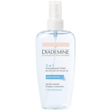 DIADEMINE Спрей Очищающий экспресс 3 в 1 200 мл orly спрей очищающий clean prep 120 мл