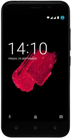 Смартфон Prestigio Grace M5 LTE черный 5 16 Гб LTE Wi-Fi GPS 3G PSP5511DUOBLACK смартфон nokia 3 dual sim черный 5 16 гб lte wi fi gps nfc 11ne1b01a09