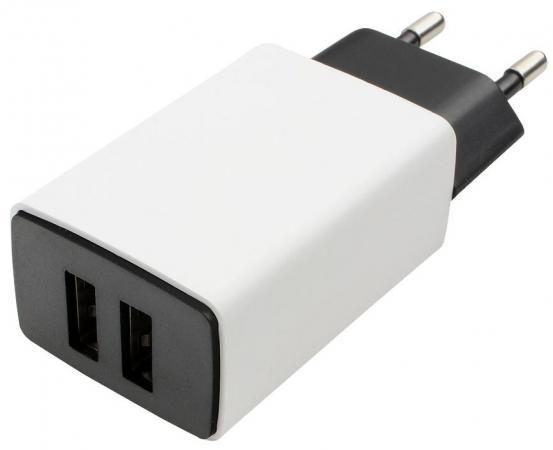 Сетевое зарядное устройство Cablexpert MP3A-PC-15 2.1A USB белый 1pcs right angle 90 degree usb 2 0 a male female adapter connecter for lap pc wholesale drop shipping
