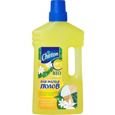 CHIRTON Средство чистящее для мытья полов Лимон 1000мл все цены