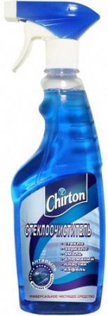 CHIRTON Стеклоочиститель Морская свежесть с распылителем 500мл chirton стеклоочиститель апельсин с распылителем 500мл 250мл промо