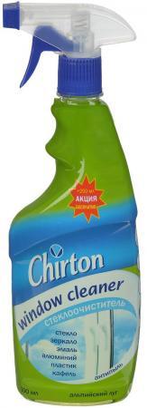 CHIRTON Стеклоочиститель Альпийский луг с распылителем 500мл 250мл ПРОМО бытовая химия chirton кондиционер для белья альпийский луг 1 л