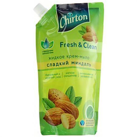 Мыло жидкое CHIRTON Сладкий миндаль 500 мл 01188 huilargan сладкий миндаль 100 мл