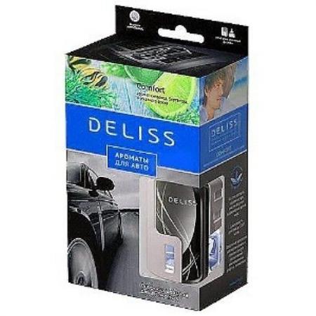 DELISS Автомобильный ароматизатор комплект Comfort ароматизатор автомобильный lav one ocean