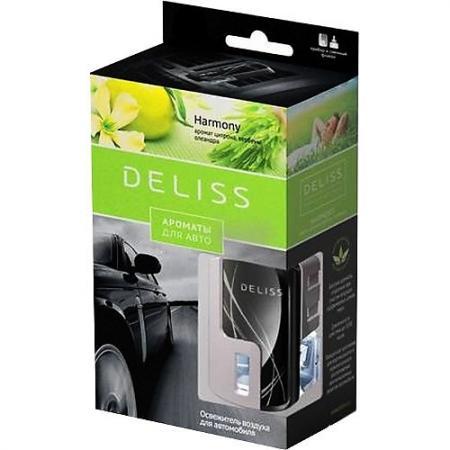 DELISS автомобильный ароматизатор комплект Harmony ароматизатор автомобильный paloma happy bag lemon