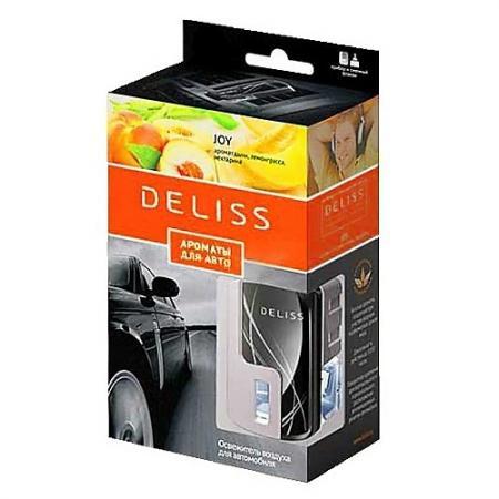 DELISS автомобильный ароматизатор комплект Joy ароматизатор автомобильный paloma happy bag lemon