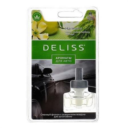DELISS автомобильный ароматизатор сменный флакон Harmony ароматизатор автомобильный paloma happy bag lemon