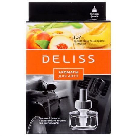 DELISS автомобильный ароматизатор сменный флакон Joy ароматизатор автомобильный fouette антитобак на дефлектор