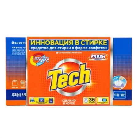 Средство для стирки Tech Fresh breeze — амлодипин таб 10мг 30