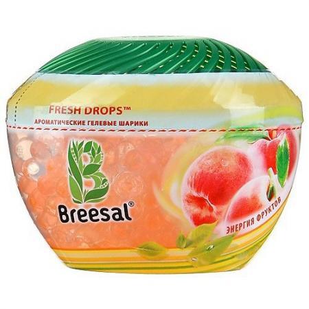 Breesal Гелевые шарики Fresh Drops Энергия фруктов освежитель воздуха breesal aroma drops свежесть летнего луга гелевые шарики