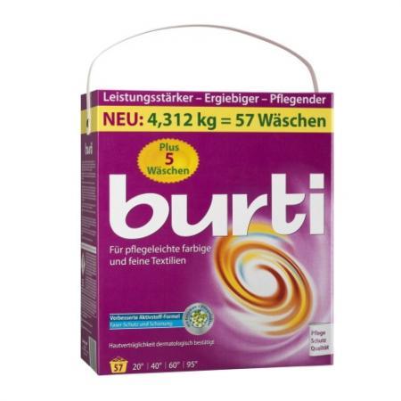 Стиральный порошок Burti Color Family pack 4.3кг порошокстиральныйcolor автомат3кг