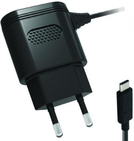 Сетевое зарядное устройство Partner 2.1A USB-C черный ПР038461 partner лягушка универсальное сетевое зу цвет белый черный