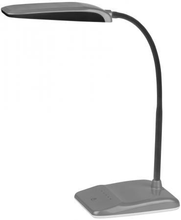 цена на Настольная лампа Эра NLED-447-9W-S серебристый