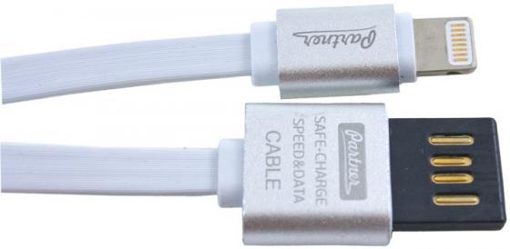 Кабель Lightning 1м Partner плоский ПР032878 кабель usb 2 0 miniusb 1м partner