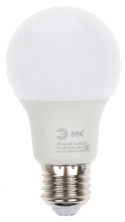 цена Лампа светодиодная груша Эра Эра A60-11w-827-E27 E27 11W 2700K онлайн в 2017 году