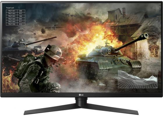 Монитор 32 LG 32GK850G-B черный VA 2560x1440 350 cd/m^2 5 ms HDMI DisplayPort Аудио USB 32GK850G-B.ARUZ монитор 49 samsung c49hg90dmi черный va 3840x1080 350 cd m^2 1 ms displayport mini displayport hdmi аудио usb lc49hg90dmixci