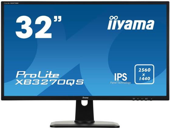 Монитор 32 iiYama ProLite XB3270QS-B1 черный IPS 2560x1440 300 cd/m^2 4 ms DVI HDMI DisplayPort Аудио alpesh patel the online trading cookbook