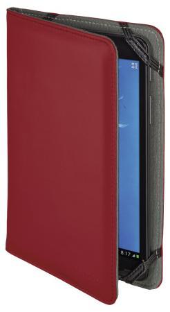 Чехол Hama Piscine универсальный для планшетов с экраном 10.1 полиуретан красный 00173551 чехол для планшета hama piscine голубой для планшетов 10 1 [00173550]