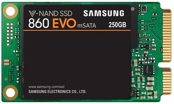 Твердотельный накопитель SSD mSATA 250Gb Samsung 860 EVO Read 550Mb/s Write 520Mb/s SATA III MZ-M6E250BW samsung 960 evo series 250gb ssd накопитель mz v6e250bw