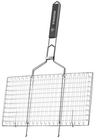 FORESTER Решетка-гриль для стейков большая 22х44 20781 small stainless steel clips silver 10 pcs