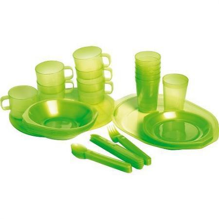 FORESTER Пластиковый набор для пикника на 6 персон в чехле набор для пикника на 6 персон picnic ca8477