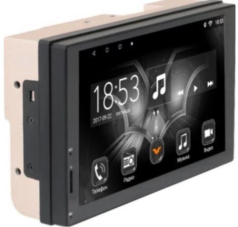 Автомагнитола Phantom DV-7034 7 1024х600 USB MP3 FM 2xDin 4x50Вт черный phantom phantom ph2139
