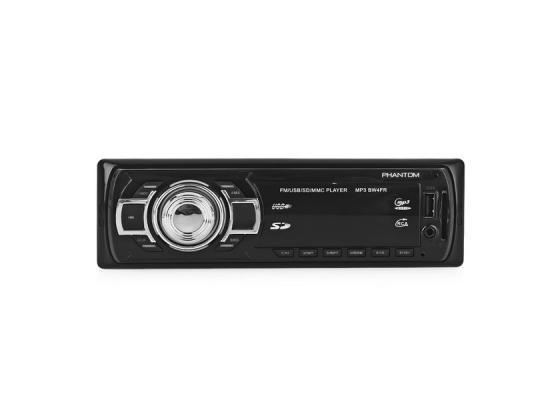Автомагнитола Phantom BW4FR USB MP3 FM 1xDin 4x45Вт черный автомагнитола phantom bw5fg4