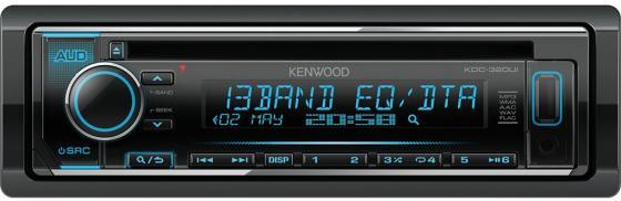Автомагнитола Kenwood KDC-320UI USB MP3 CD FM RDS 1DIN 4х50Вт черный автомагнитола kenwood kdc 152r usb mp3 cd fm rds 1din 4х50вт черный